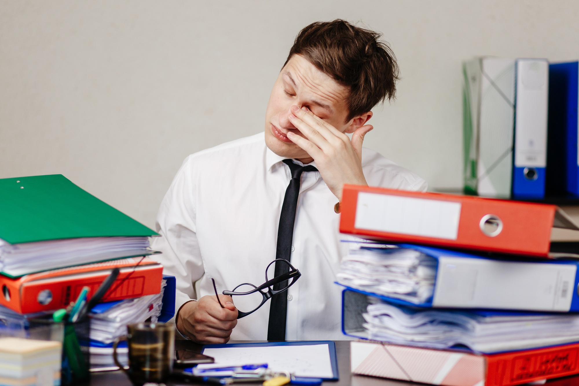 Separovic Injury Lawyers Workers Compensation Stress Claims - Office Worker.jpg